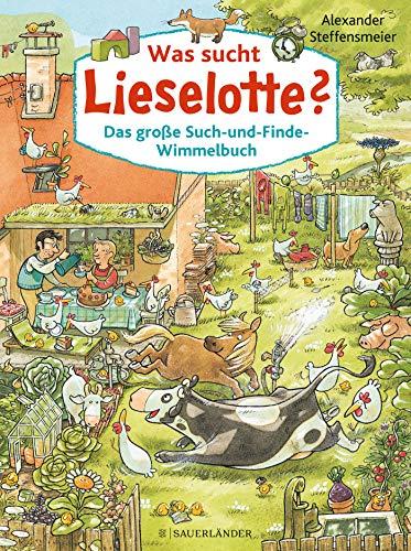 Was sucht Lieselotte? Das große Such-und-Finde-Wimmelbuch: Wimmelbuch Bd 2