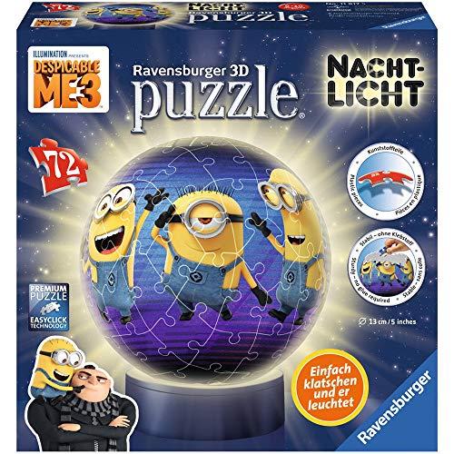 Ravensburger 11817 Despicable Me/Minions Nachtlicht: Ich-einfach unverbesserlich 3 3D-Puzzle