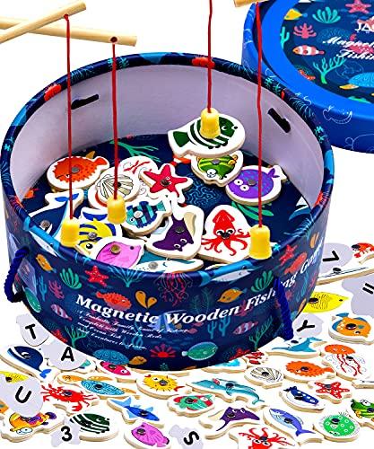 Jaques of London Angelspiel | Spielzeug ab 2 Jahre | Magnetspiel | Angelspiel Für Kinder ab 2 3 4 Jahre...