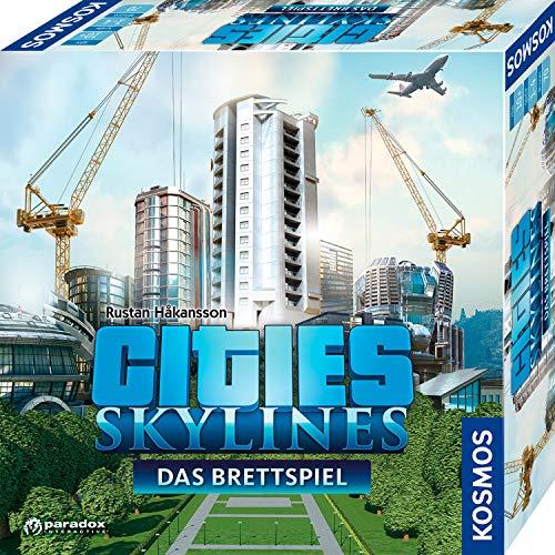 KOSMOS - Cities: Skylines, Das Brettspiel zum PC-Spiel