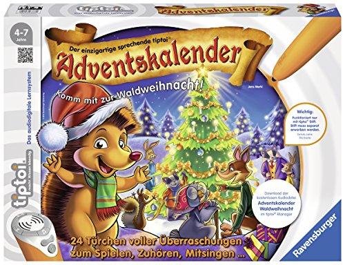 Ravensburger -tiptoi Adventskalender Waldweihnacht der Tiere