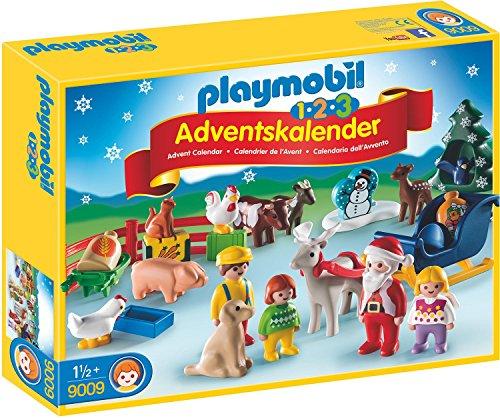 Playmobil - 1.2.3 Adventskalender Weihnacht auf dem Bauernhof