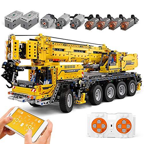 FigureArt Technic Kran Bausteine, 2590 Teile, Mould King 13107 Riesenkran Kran Modell, Doppelte...
