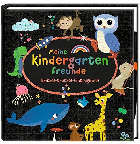 Freundebuch - Meine Kindergartenfreunde: Kritzel-Kratzel-Eintragbuch (Alben & Geschenke für Kinder)