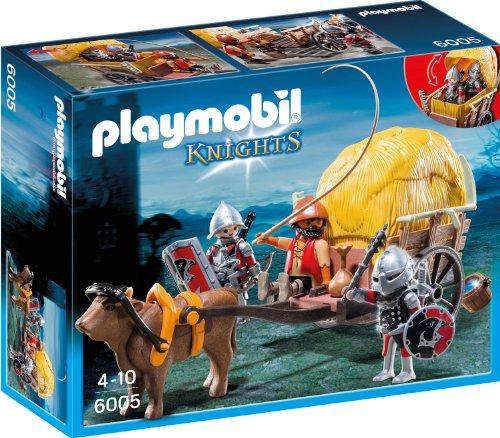PLAYMOBIL Knights 6005 Tarnkutsche der Falkenritter, ab 4 Jahren