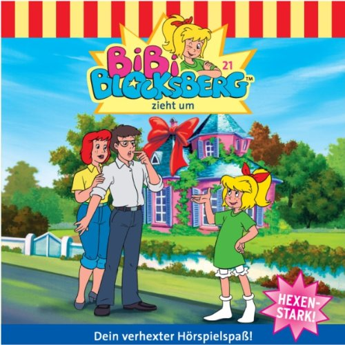 Kinderhörspiel Bibi Blocksberg: Bibi zieht um