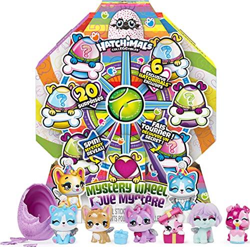 Hatchimals CollEGGtibles Mystery Wheel Welpenparty mit 20 Überraschungen zum Öffnen, für Kinder ab 5...