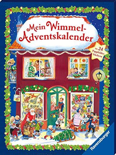 Wimmel-Adventskalender mit 24 Wimmel-Bilderbüchern