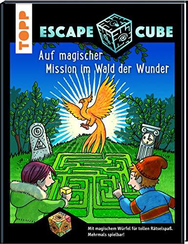 Escape Cube Kids Auf magischer Mission im Wald der Wunder: Das Escape-Abenteuer für Kinder mit dem...