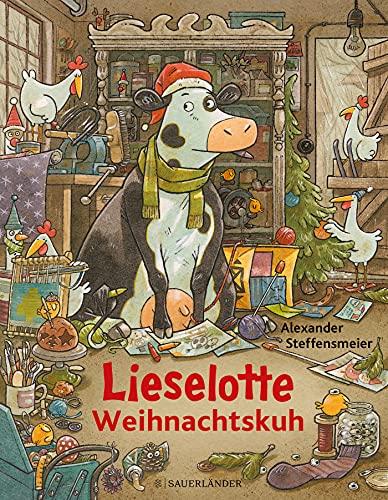 Lieselotte Weihnachtskuh: Vorlesespaß im Advent für Jungen und Mädchen ab 4 Jahre
