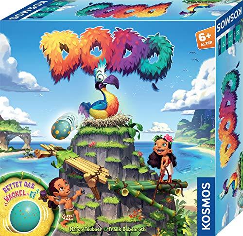 Kosmos 697945 Dodo - Rettet das Wackel-Ei, rasantes Brettspiel für Kinder ab 6 Jahre, für 2 -4 Spieler,...
