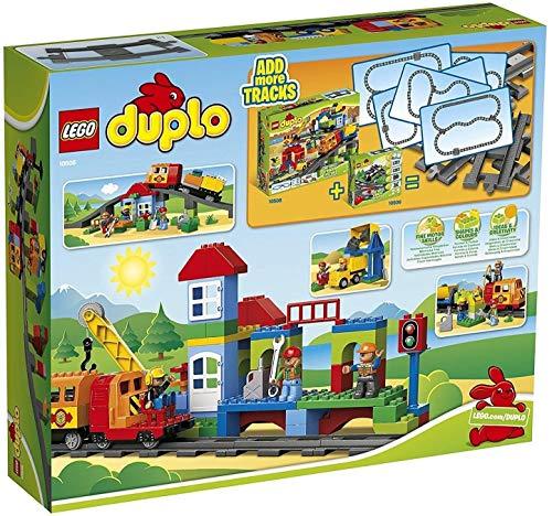 Spielzeug-Eisenbahnset 'Eisenbahn Super Set' von LEGO duplo