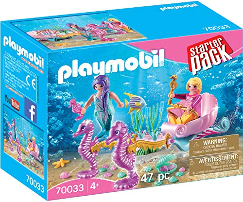 Playmobil 70033 Starter Pack StarterPack Seepferdchenkutsche, bunt