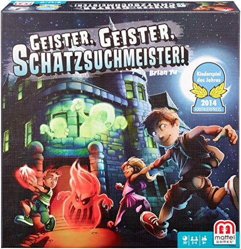 Geister, Geister, Schatzsuchmeister!von Brian Yu/Mattel Games