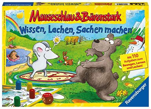 Ravenburger: Mauseschlau & Bärenstark - Wissen, Lachen, Sachen machen