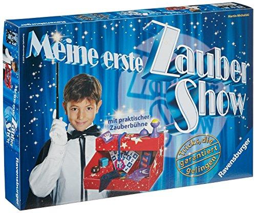 Ravensburger 21939 - Meine erste Zaubershow, Zauberkasten für Kinder, Zaubertricks für Einsteiger ab 6...