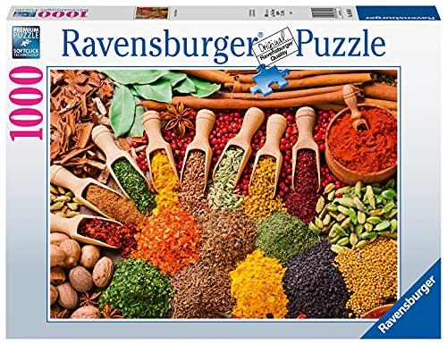 Ravensburger Puzzle 1000 Teile - Gewürze und Kräuter - Puzzle für Erwachsene und Kinder ab 14 Jahren,...