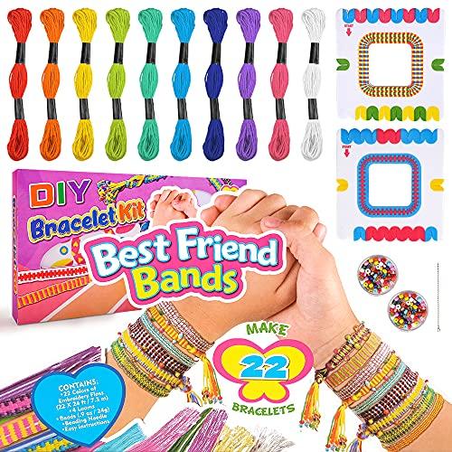 Mädchen Geschenke Armbänder Kit Kinder, Freundschaft 6 7 8 9 10 Jahre alte Kind Geburtstagsgeschenk...