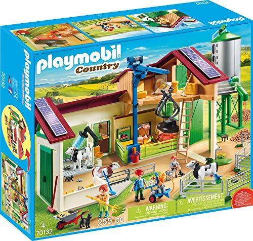 PLAYMOBIL Country 70132 Großer Bauernhof mit Silo, Ab 4 Jahren