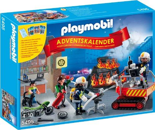 Playmobil - Adventskalender Feuerwehreinsatz mit Kartenspiel
