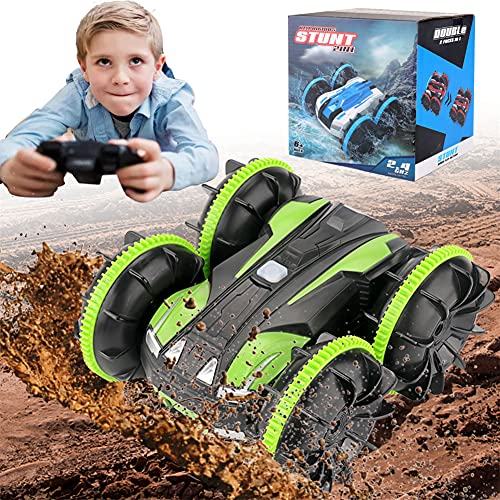 HIUME Ferngesteuertes Auto, ab 3 4 5 6 7 8 Jahre Jungen Mädchen, Wasserdicht Stunt Auto Mit 40m...