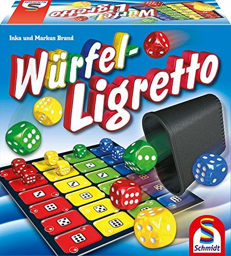 Schmidt Spiele 49611 Würfel Ligretto, Würfelspiel