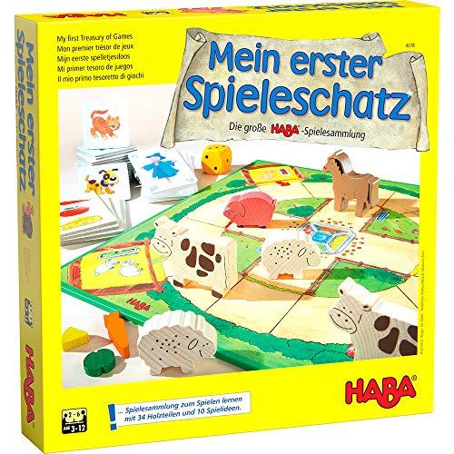 HABA: Mein erster Spieleschatz - Die große HABA-Spielesammlung
