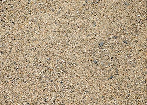 15Kg Rheinsand 0-2mm gewaschener Fugensand/Verlegesand   Beachsand praktisch verpackt in 5Kg Beutel  ...