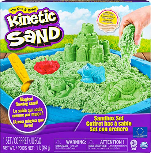 Kinetic Sand 6029059 - Box grün