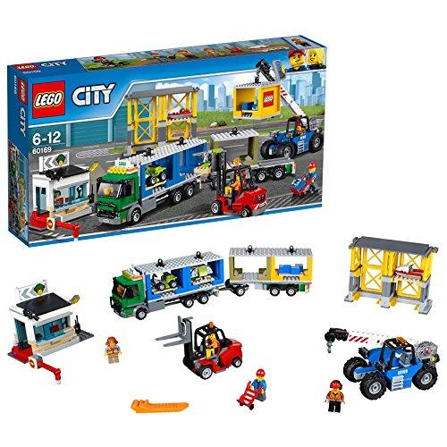 LEGO City 60169 - 'Frachtterminal Konstruktionsspiel, bunt