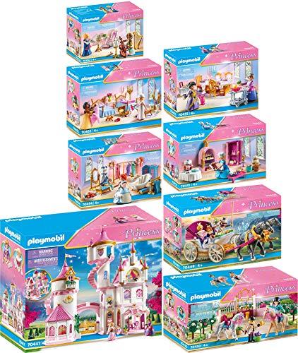 PLAYMOBIL® Princess 8er Set 70447 70449 70450 70451 70452 70453 70454 70455 Prinzessinnenschloss +...
