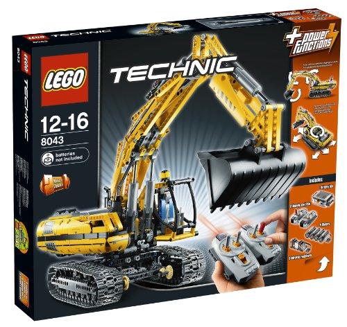 Lego Technic - Motorisierter Raupenbagger
