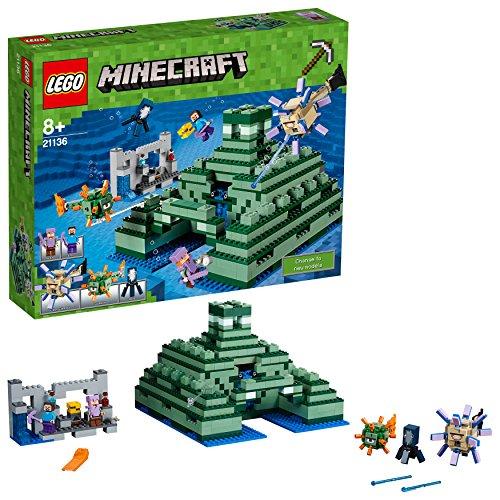 Klemmstein-Bausatz 'Das Ozeanmonument' von LEGO Minecraft