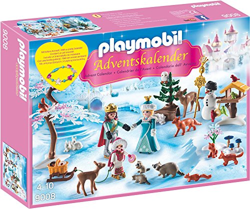 Playmobil - Adventskalender Eislaufprinzessin im Schlosspark