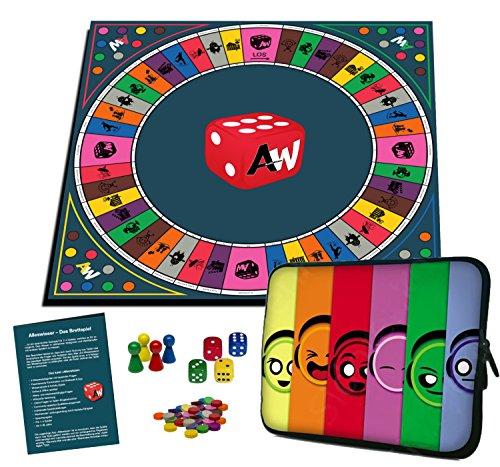 Alleswisser - Das Brettspiel, interaktives Quiz-, Wissens- und Familienspiel mit App für iOS und Android...