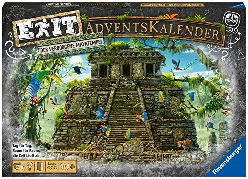 Ravensburger 18956 - EXIT Adventskalender - Der verborgene Mayatempel - 24 Rätsel für EXIT-Begeisterte...