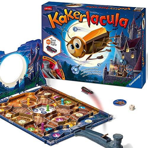 Ravensburger Kinderspiel Kakerlacula, Gesellschafts- und Familienspiel, für Kinder und Erwachsene, für...