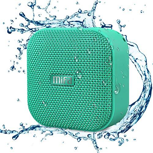 MIFA A1 Mini Lautsprecher Bluetooth, Technologie TWS, 15 Stunden Spielzeit, IP56 Wasserfester und...