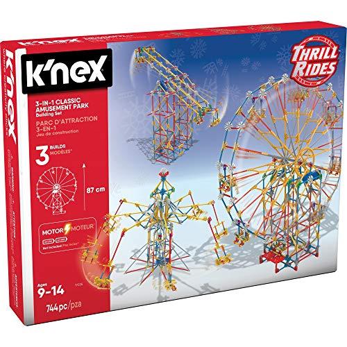 K'Nex 17035 33956 - Thrill Rides - Classic Ferris Wheel - 744 Pieces - 9+ - Bau- und...