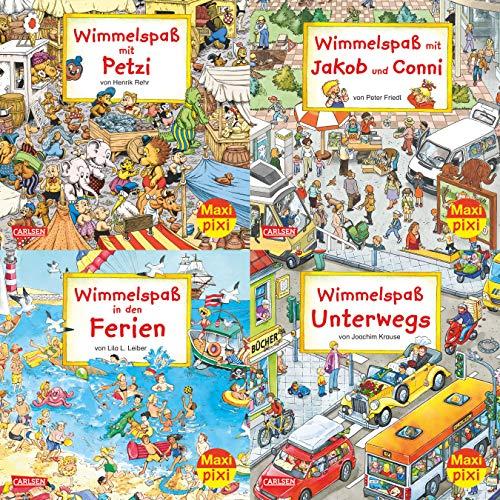 Maxi-Pixi-4er-Set – Wimmelbilder