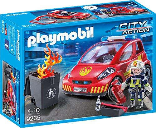 Playmobil 9235 - Feuerwehr-Einsatzfahrzeug