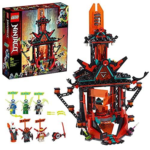Lego71712NINJAGOEmpireTempeldesUnsinns,Bausetmit6Minifiguren,NinjaSpielzeugfür...