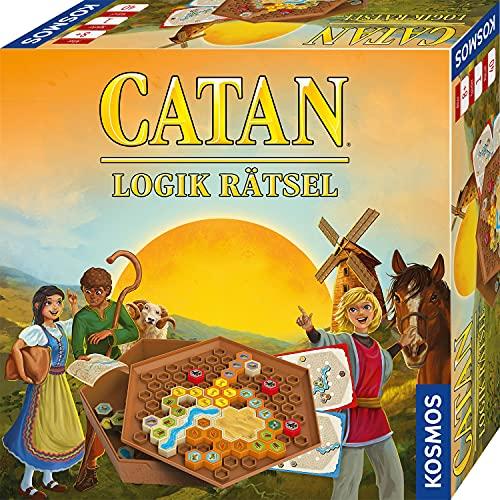 KOSMOS 682293 CATAN -Logik Rätsel, Knobel-Spiel in der Welt von CATAN, 40 Aufgaben, verschiedene...