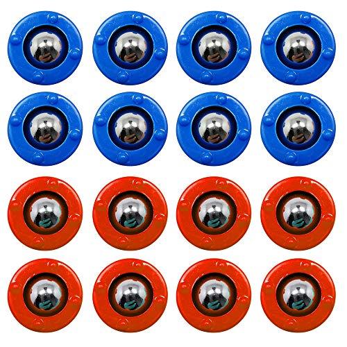CS COSDDI Shuffleboard,Shuffleboard Pucks,Curling Mini Rollers Ersatzset mit 16 Rollen, Shuffleboard...