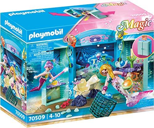 PLAYMOBIL Magic 70509 Spielbox 'Meerjungfrau', Ab 4 Jahren