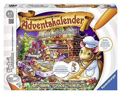 Ravensburger - tiptoi Adventskalender Weihnachtsbäckerei