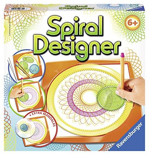 Ravensburger 29774 - Spiral-Designer - Zeichnen lernen für Kinder ab 6 Jahren, Kreatives Zeichen-Set...