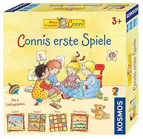 KOSMOS 697655 - Connis erste Spiele, Spielesammlung für Kinder ab 3 Jahren, vier verschiedene...