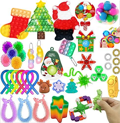 2021 Fidget-Spielzeug-Set, Kaugummi-Pop-Spielzeug, Stressabbau, Angstabbau, Spielzeug für Kinder und...