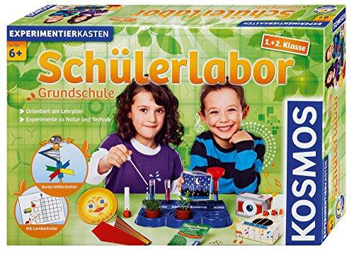 KOSMOS 634315 - Schülerlabor Grundschule 1. und 2. Klasse, Experimente zu Natur und Technik, am Lehrplan...
